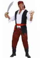 Caribbean Pirate Man Costume (7035)